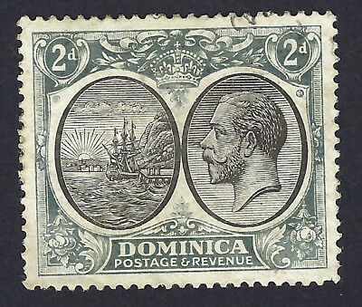 DOMINICAN REPUBLIC STAMP 1923-33 SERIES 2d SG77 FINE USED