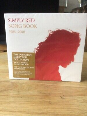 Simply Red - Song Book 1985-2010 - Simply Red CD Boxed Set New And Sealed