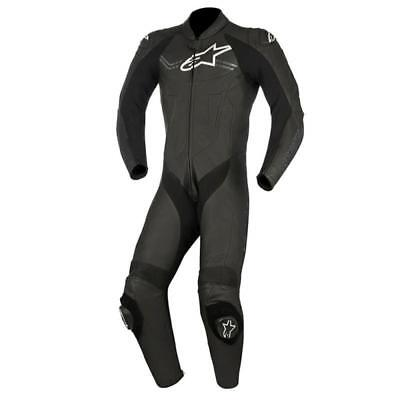 Alpinestar Alpinestars Challenger V2 Leather 1 One Piece Suit - Black