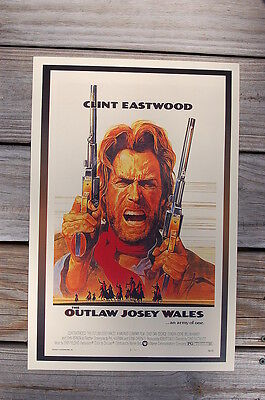The Outlaw Josey Wales Lobby Card Movie Poster Clint Eastwood Western