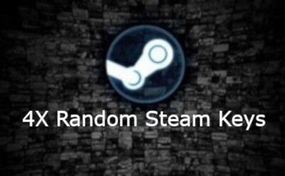 4x Random Steam Key's Region Free Instant Delivery