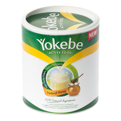 Yokebe Powder Natural Honey SPECIAL OFFER PACK (500g X 5 Tins)