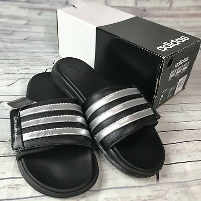 a00100a1254f Adidas Superstar 4G Men Black Slides Athletic Sport Sandals AQ5893 US Sz 11