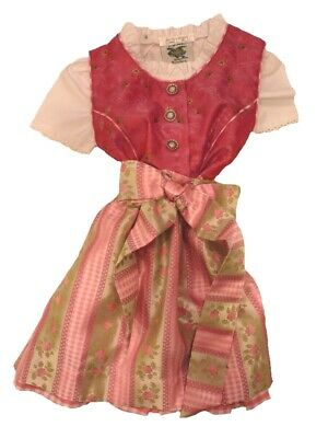 Party Girl Dirndl with Accessories Size 74 86 92 104 110 128 134 140