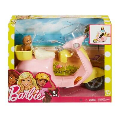 Barbie Motor Scooter Mattel Frp56 Barbie Doll Accessories