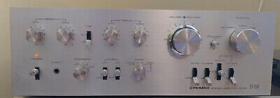 Pioneer SA-8500 Stereo Amplifier Vintage Integrated Amp Working