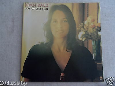 disque Vinyle 33 trs             JOAN BAEZ   -   DIAMONDS & RUST