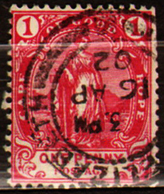 South Africa Cape of Good Hope 1893 Mi 42 Allegory of hope