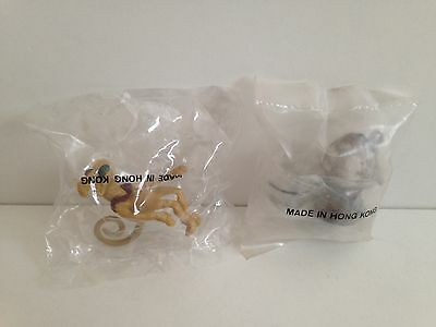 Vintage Kenner STAR WARS Salacious Crumb Jabba The Hutt Playset Pipe Set Baggys