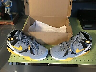 16c5f862e0 Nike Air Trainer Max 91 OG Bo Jackson 309748-071 Yellow Grey Size 9 RARE