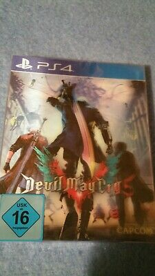 Devil May Cry 5  - Playstation 4 Spiel mit Hologrammcover - NEU & OVP!