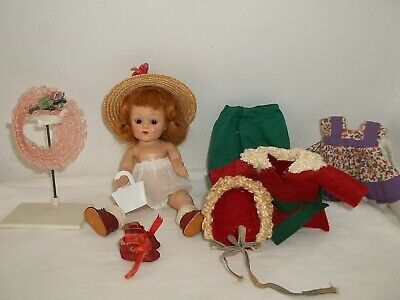 Vintage Vogue Ginny Doll And Clothes Lot