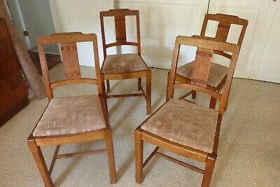 Art & Crafts Chairs Solid Oak