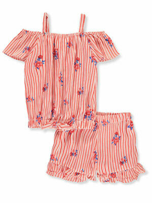 Girls Luv Pink Girls' 2-Piece Shorts Set Outfit