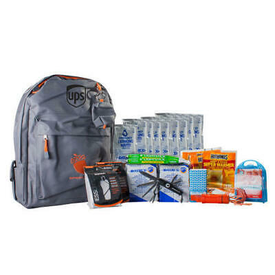 United Parcel Service Ups 72 Hour Emergency Kit Medium Survival Bag Backpack