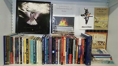 Huge Lot of 120 Pentecostal Books & Booklets Prince Hinn Copeland Roberts & More