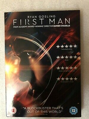 First Man Dvd + Digital Download. With Cardboard Sleeve. Brand New. Still Sealed
