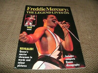 Freddie Mercury The Legend Lives On - Giant Poster