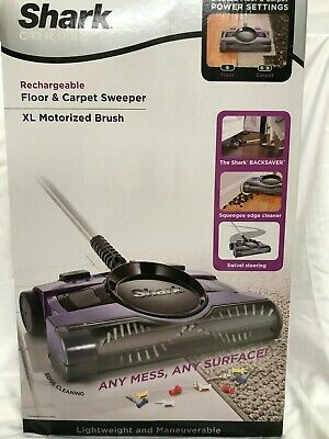 Shark Rechargeable Floor And Carpet Sweeper 13 Inch V2950