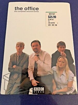 The Office (UK): Complete 2nd Series Brand NEW Factory Sealed DVD