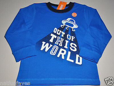 Gymboree toddler boy space out of this world t shirt size 2 2T NWT top boys