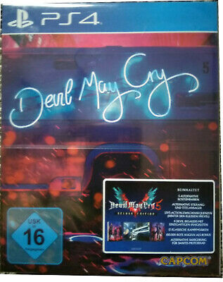 Devil may Cry 5 Deluxe Edition , Steelbook, Playstation4 , Neu + OVP