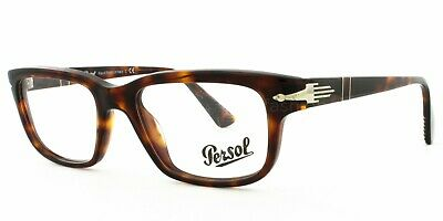 New And Authentic Persol Film Noir Edition Eyeglasses Po 3073 V 24 Brown Havana