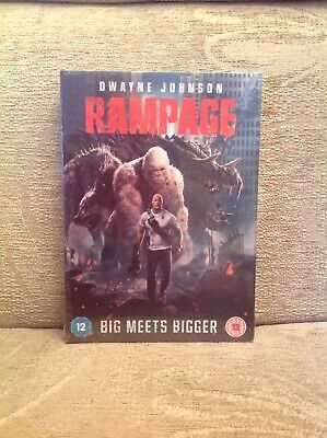 Brand New And Sealed 'Rampage' DVD 2018