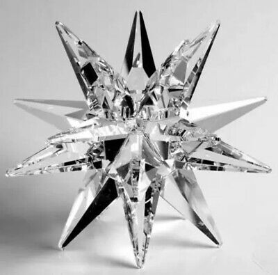 Swarovski Large Star Candleholder - 13748 Authentic.  Stunning Piece