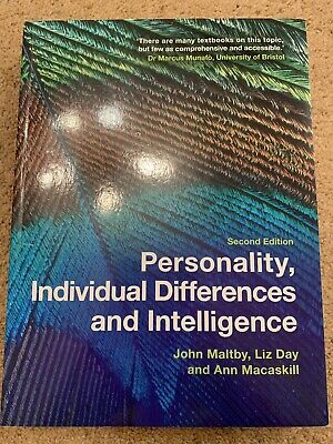 Personality, Individual Differences and Intelligence by Ann Macaskill, John...