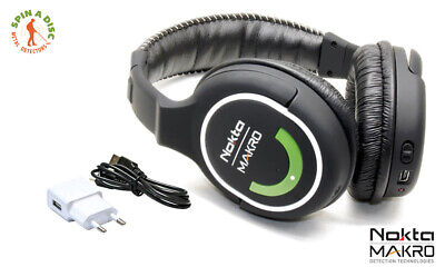 Nokta Makro 2.4GHz Wireless Headphones New Version GREEN EDITION
