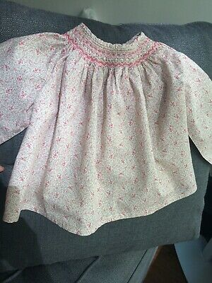 Bonpoint Baby Girls' Hand-smoked Blouse 18 months