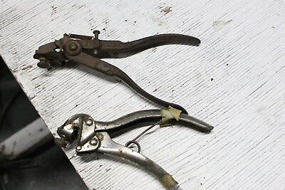 Vintage Antique Lot Taintor Saw Set Tooth Set Woodworking Tool Logging M12