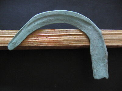 SICKLE BRONZE AGE ANCIENT ILLYRIANS BRONZE WEAPON 1200-900 BC. 14 cm