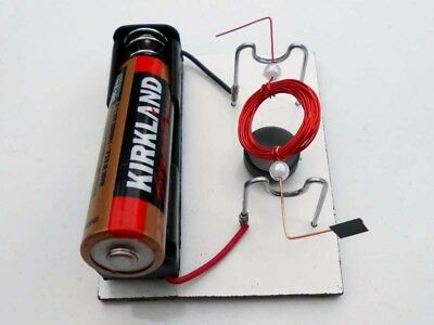 DIY SIMPLE CONVENTIONAL Motor Kit #15 Science Fair Project