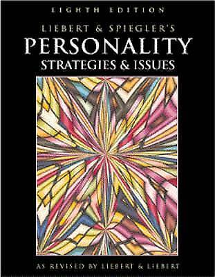 Personality: Strategies and Issues by Robert M. Liebert, Michael D. Spiegler...