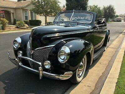 1940 Mercury Other 2 Door 1940 Mercury Convertable 09A 3 Speed Manual