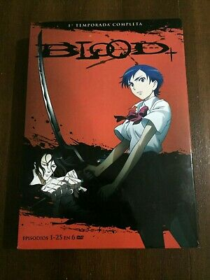 Blood Temporada 1 Completa - Box 3 Slimcase - 6 Dvd + Extras - 25 Eps - 625 Min