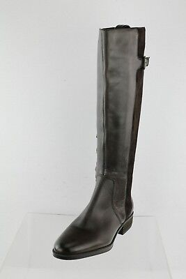 0dd94e953 SAM EDELMAN CIRCUS KENSLEY Gray Suede Leather High Heel Boots Womens ...