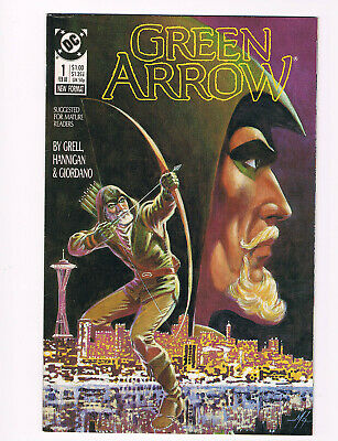 Green Arrow #1- Mike Grell; DC 1987 VF/NM