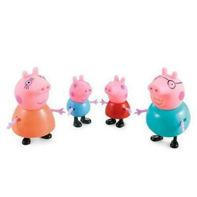 4 Pcs Peppa Pig Family&Friends Emily Rebecca Suzy Action Figures Toys Kids Gift