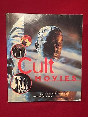 Cult Movies by Carl and Philip French Large Softback Book Horror