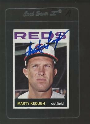 Marty Keough Signed Auto 1964 Topps #166 Baseball Card Autograph A
