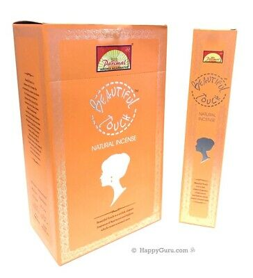 """Beautiful Touch"" Incense Sticks Masala (12x17gm) 204gm By Parimal ""One Dozen"""