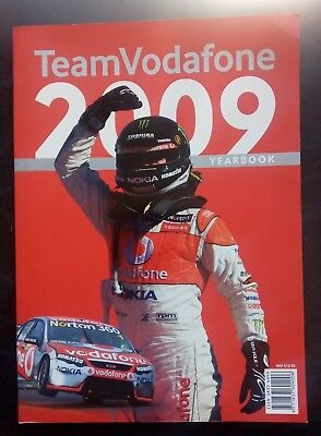 2009 Team Vodafone Yearbook V8 Super Cars.