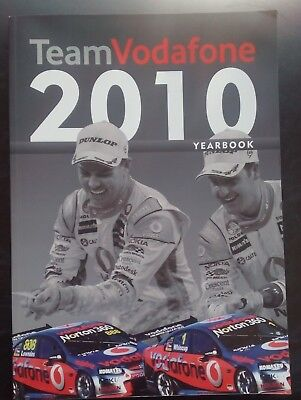 2010 Team Vodafone Yearbook V8 Super Cars.