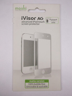 NEW moshi iVisor AG Advanced Screen Protector for iPod touch (4th gen.) White
