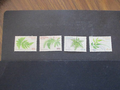 5--2012  Ferns  F/set  Of  4  Used  - With   High  Values  -Great  Lot