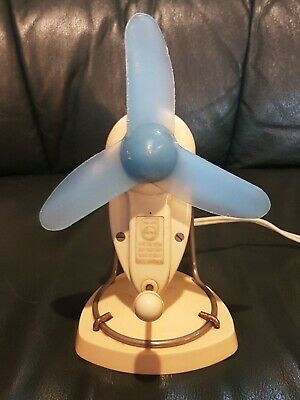 Vintage Phillips Bakelite Desk Fan
