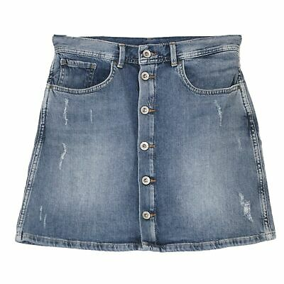 21586 PEPE DAMEN Jeansrock Minirock Skirt TATE Stretch blue